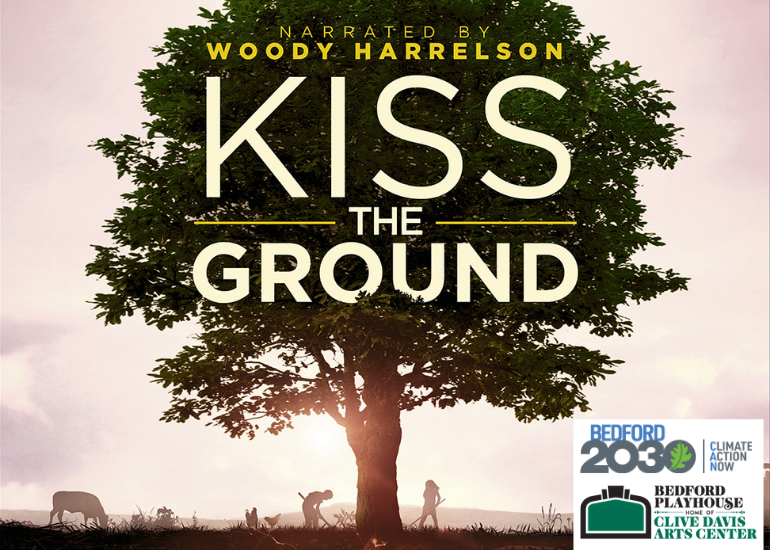 Kiss the Ground film screening and Q&A, February 16th at 7:30