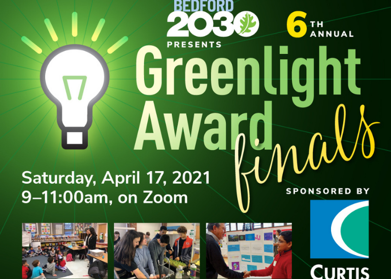 6th annual Greenlight Award finals on Saturday April 17 9am to 11am on Zoom