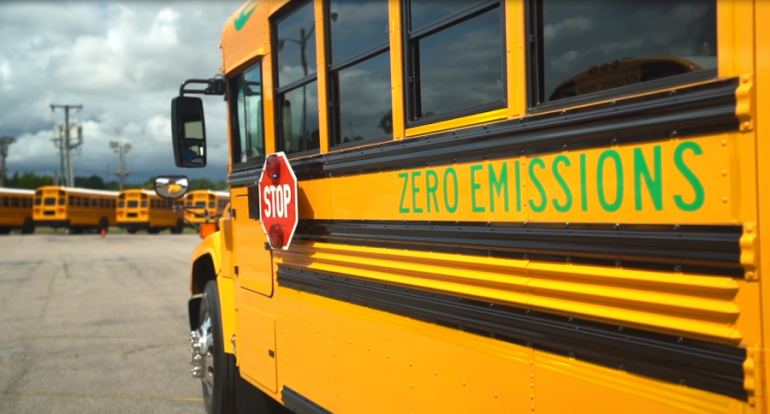 Bringing Clean School Buses to our Community