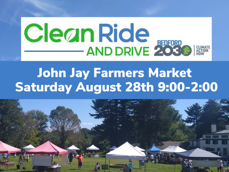 Clean Ride & Drive at the JJ Farmers Market